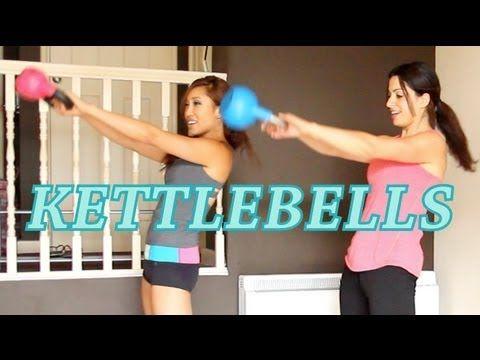 Kettlebell Workout for Beginners @blogilates #fitfluential