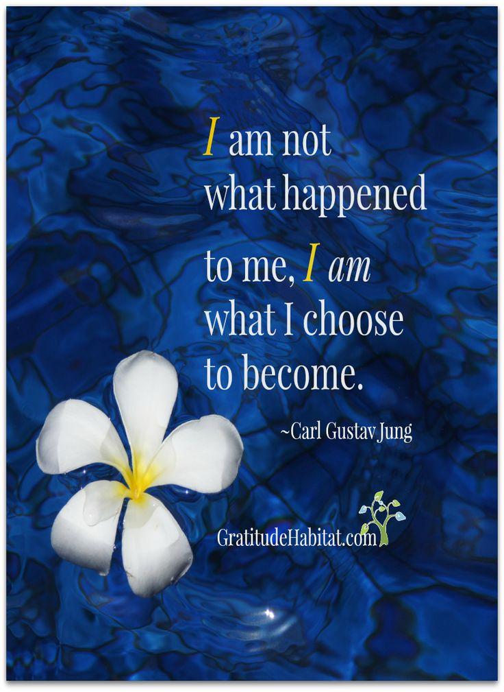 I choose to be a kind, loving, grateful person.  How about you? Visit us at: www.GratitudeHabitat.com