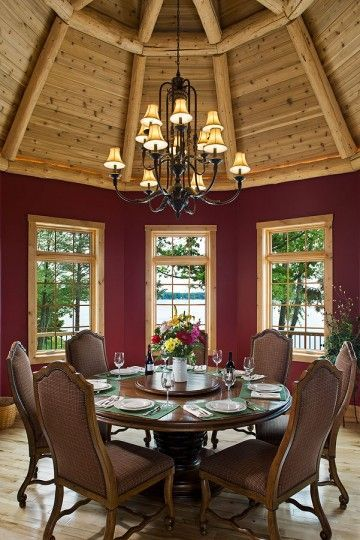 log homes | Log Home Interiors