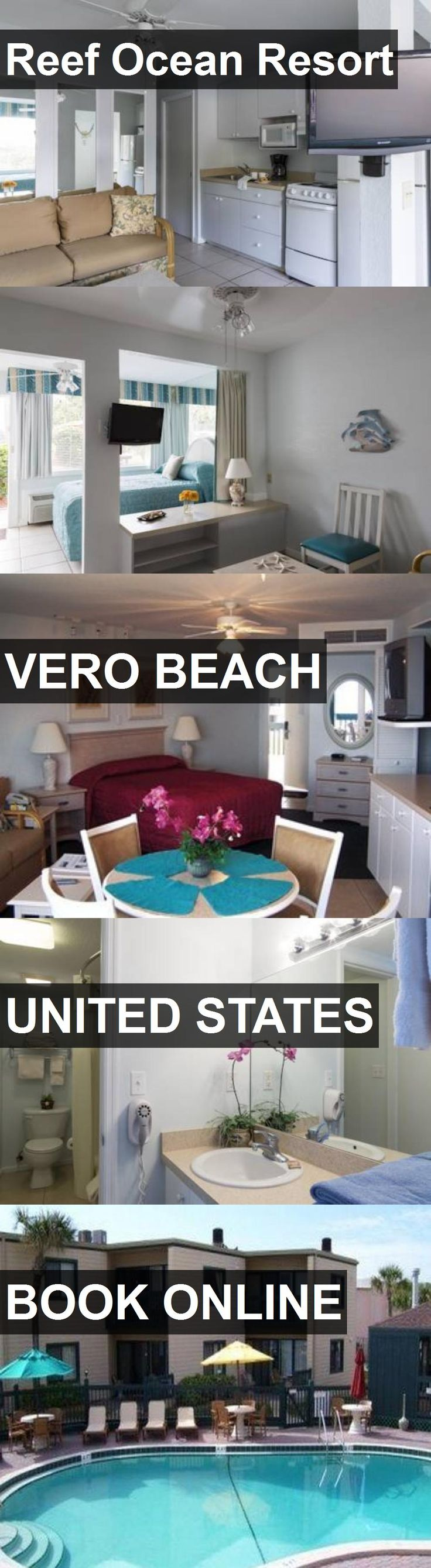 Hotel Reef Ocean Resort in Vero Beach, United States. For more information, photos, reviews and best prices please follow the link. #UnitedStates #VeroBeach #travel #vacation #hotel