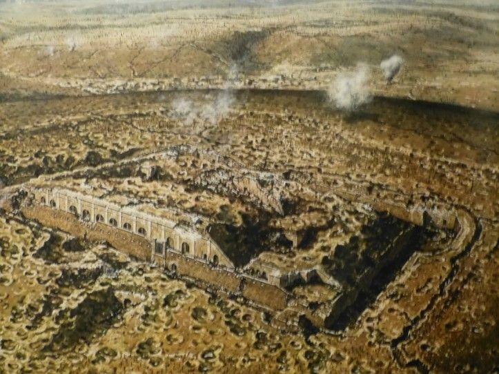 WWI, Verdun 1916, Fort de Vaux