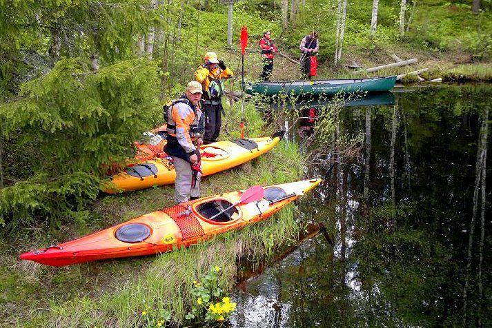 Geführte Paddeltour mit Kanu oder Kayak