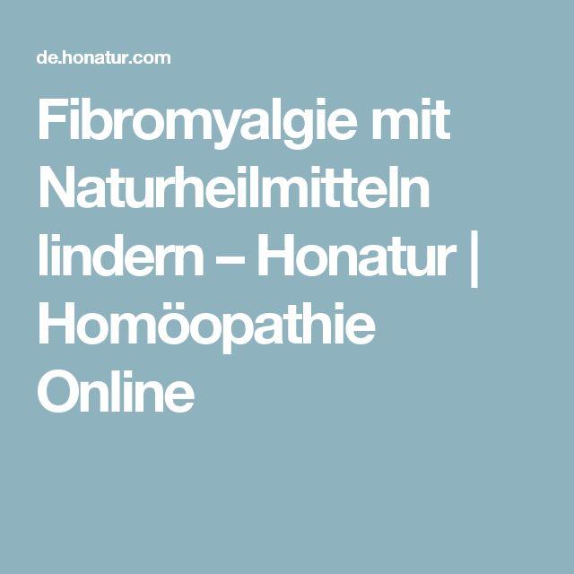 Fibromyalgie mit Naturheilmitteln lindern – Honatur | Homöopathie Online