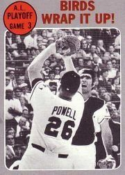 1970 Topps #201 AL Playoff Game 3/Boog Powell/Andy Etchebarren - VG-EX by Topps. $0.70. 1970 Topps Co. trading card in very good/excellent condition, authenticated by Seller