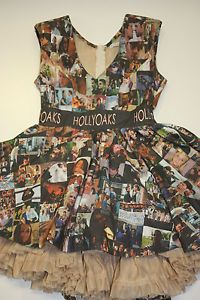 Hollyoaks one of a kind dress signed by the cast