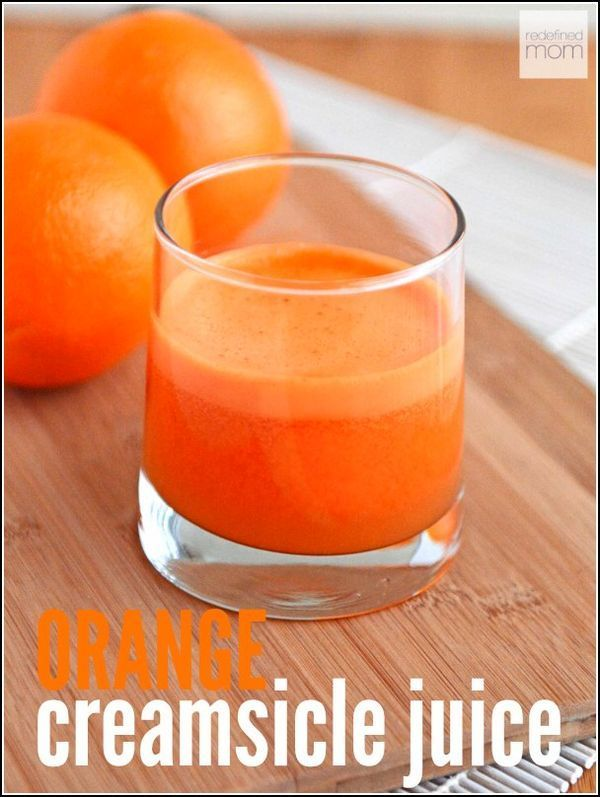 Feeling under the weather? This Orange Creamsicle Juice recipe is three ingredients, packed with vitamin C and strengthens your immune system immediately. Plus, kids think it is super yummy too.