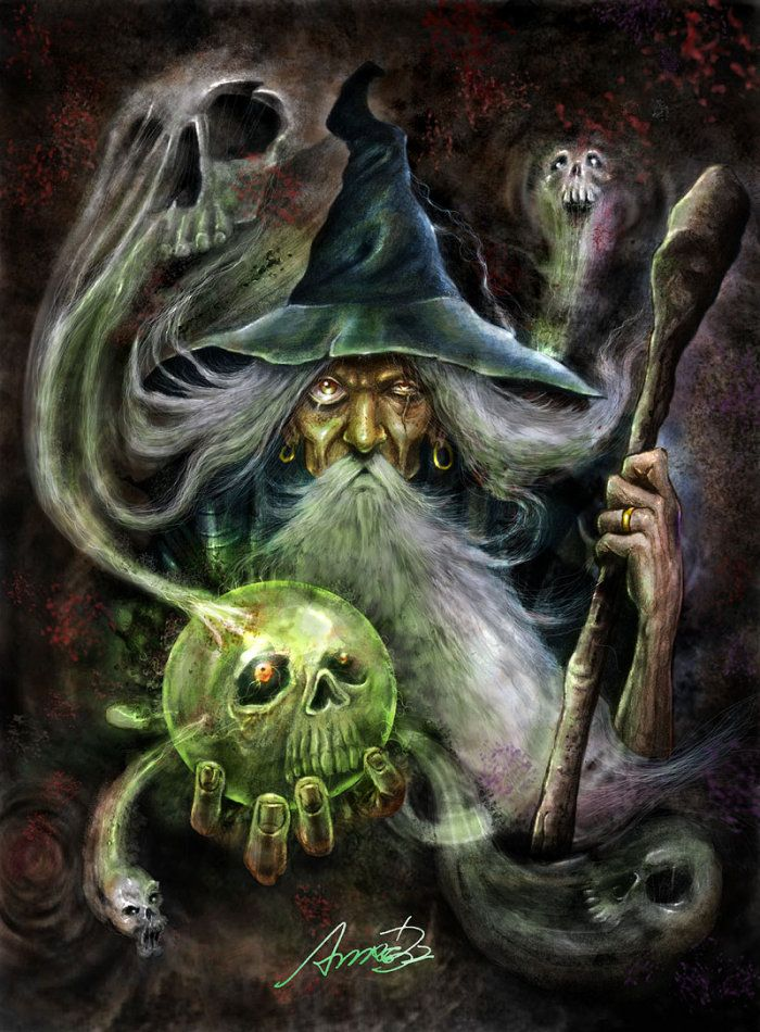 Wizard by andré Bdois