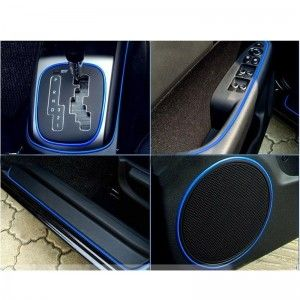 5M Auto Decoration Sticker Thread Car Interior Exterior Body Modify Decal Blue for Wholesale,$ 3.19