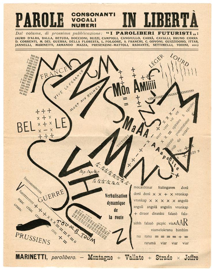 Conjunto documental Futurismo Italiano | Archivo Lafuente
