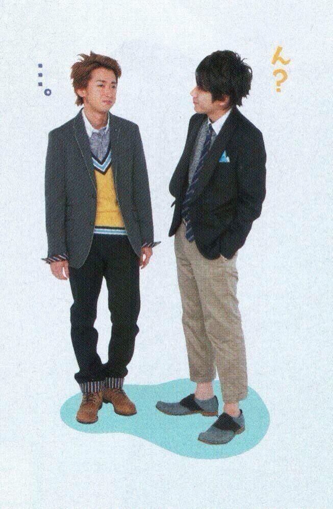 Satoshi and Nino