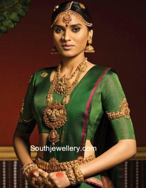 Bridal Jewellery Set by Malabar Gold and Diamonds photo