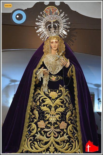 MI PASION POR JEREZ: Virgen del Traspaso en el besapies de Jesús Nazare...