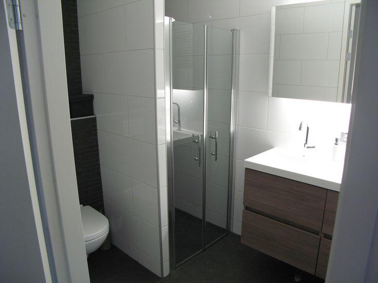 7 best images about landelijk moderne badkamer on pinterest fam met and bathroom - Deco kleine badkamer met bad ...