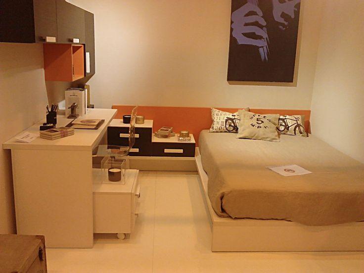 Dormitorio juvenil novedad 2014 de ros feria del mueble for Dormitorios juveniles zaragoza