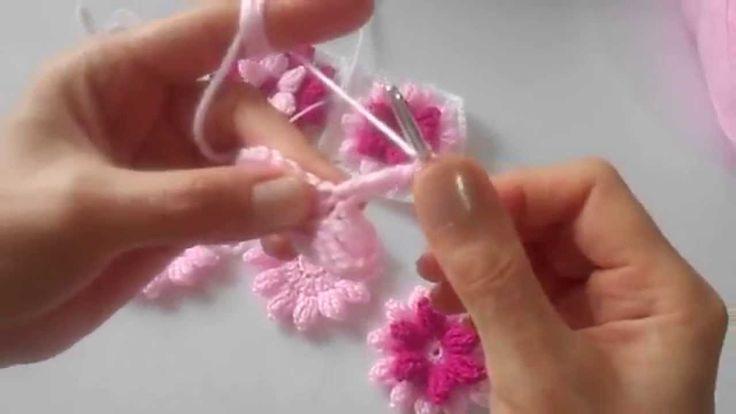 Çiçek Motif Yapılışı