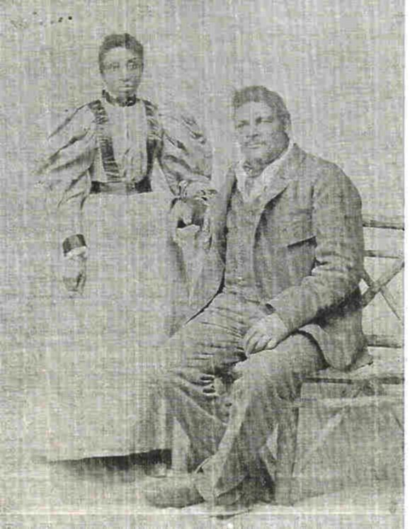 "Amos Harris, known as""Big Amos"" is said to have been Nebraska's first negro cowboy. He was reported to weigh between 250 pounds and 300 pounds, and was 6 foot 3 inches tall. He spoke 5 languages and it was reported that he was born south of Galveston, Texas, on the Brazos River, the son of freed slave parents. He was known as ""One of God's True Nobelmen"". He carried a raw-hide rope which he, himself, had braided. He was considered to be one of the best ropers in the Sandhills."