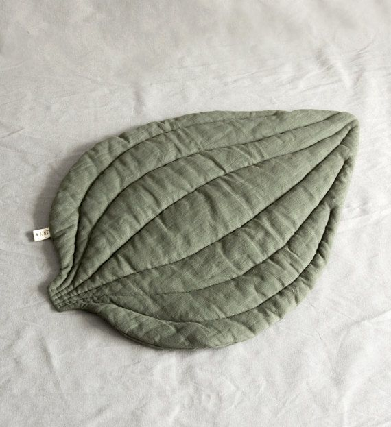 Rug baby playmat leaf blanket rugs mat nursery boy mat by Kinzzza