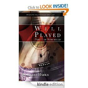 WELL PLAYED (eBook) by Stella Harris - A young cellist has the chance of a lifetime at a very prestigious institution. But her position is soon compromised by her frustratingly gifted, handsome and manipulative section leader. Amazon.co.uk £1.43 & Amazon.com $1.99.