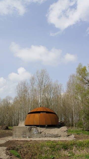 Spherical bird observatory in Waterline by Arie Huisman