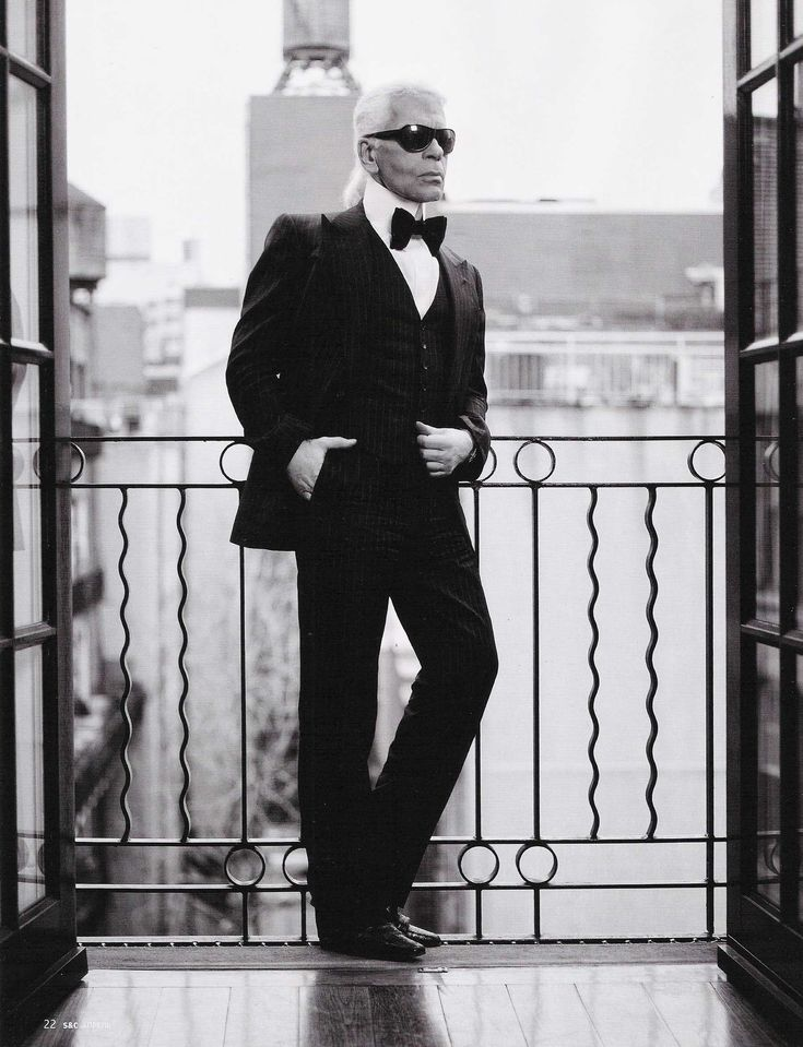 Fashion designer Karl Lagerfeld has an art house collection, to satisfy his love for culture.