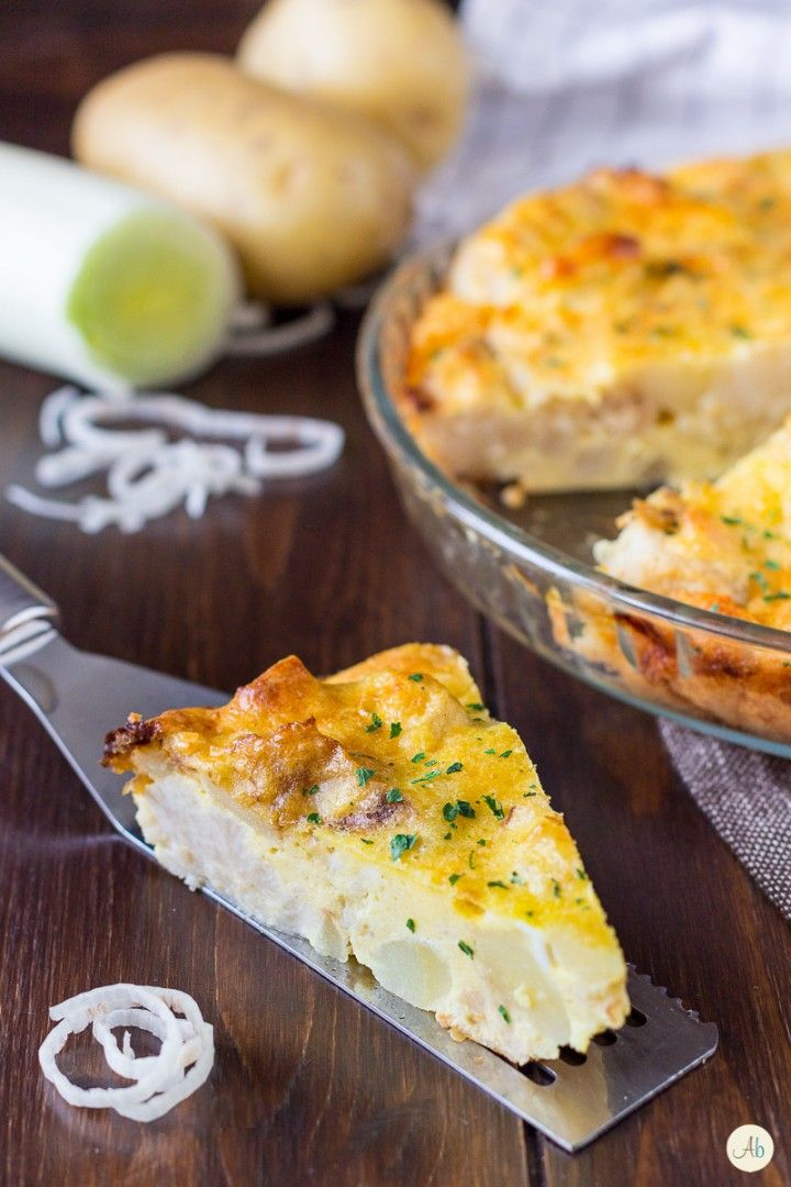 Sformato di patate e cavolfiore