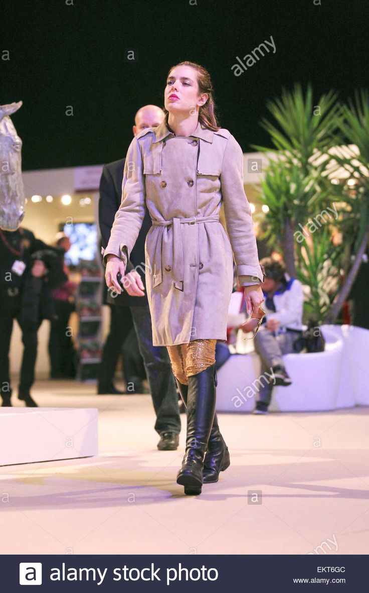 03.DECEMBER.2011. VILLEPINTE CHARLOTTE CASIRAGHI AT THE 3RD ANNUAL GUCCI MASTERS 2011 IN VILLEPINTE, IN FRANCE. Stock Photo