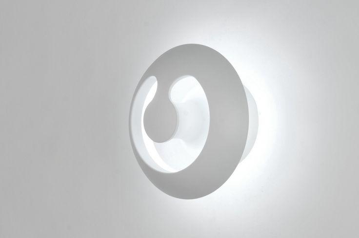 Plafondlamp 71336: Modern, Design, Metaal, Wit