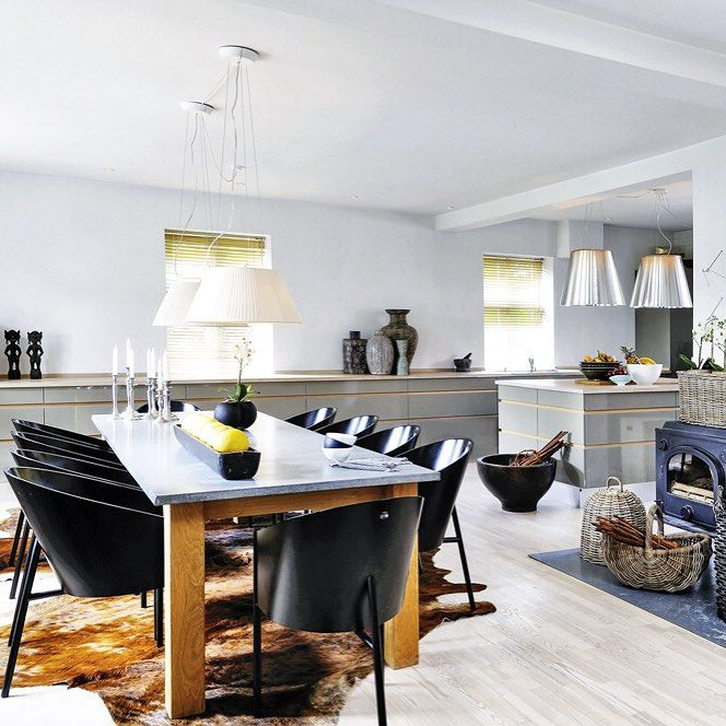 """Nordic know-how. Tour a transformed, charming farmhouse and other interiors from new book """"Living in Style Scandinavia"""" in #Introspective. Design by Choff Design 