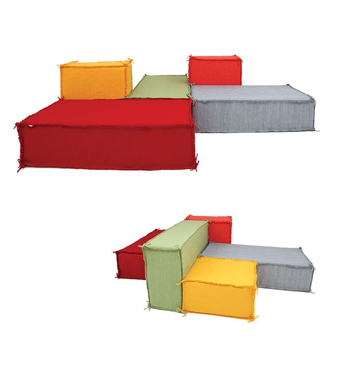 Darono | IN | OUT | Island Sofa | The Island Modular Sofa is a graceful and functional piece that allows diverse combinations and configurations, for mutable living spaces. #darono #furniture #design #decor #designfurniture #ecofriendly #portugal #handmade #creativefurniture #moderndecor #outdoor #outdoorfurniture #outdoordesign #outdoordecor #interiors #outdoors #architecture #seating #relax #seat #interiordesign #interiordecor