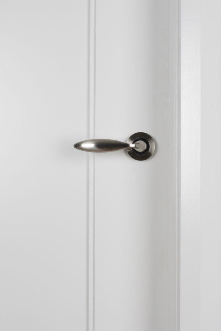 Shaker 1 Panel White Primed Door (40mm)