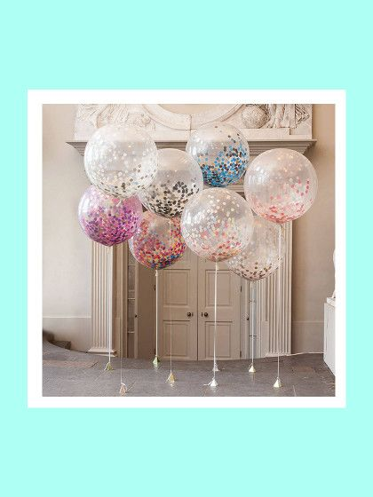 Die besten 25 luftballons ideen auf pinterest konfetti ballons glitter ballons und hochzeit - Ausgefallene hochzeitsdeko ideen ...