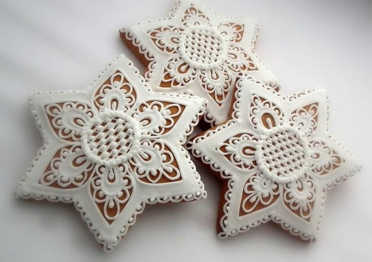 Lacy Gingerbread Star ~ Number: 5599