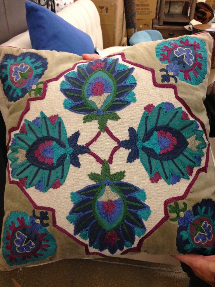 World Plus Market -- Bold pillow