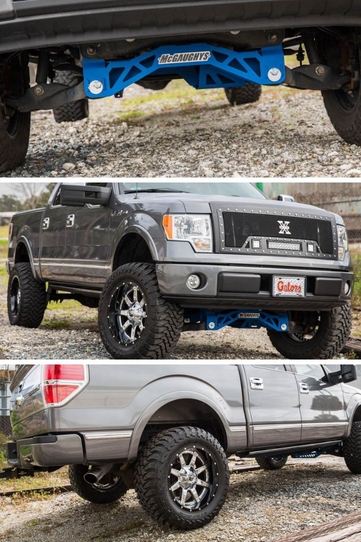 "Mcgaughys Premium Lift Kit 6.5"" Lift Fuel Maverick Black"