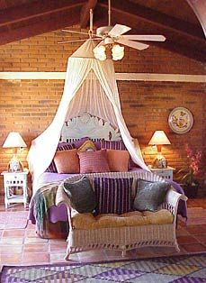 Mexican style bedroom