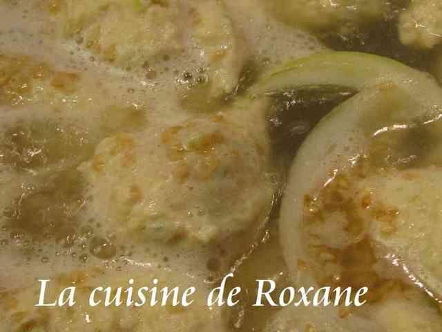 塩ちゃんこ鍋のスープとつくねの作り方の画像