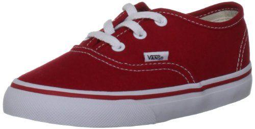 Vans Authentic VJXI4LL Unisex - Kinder Lauflernschuhe, Dunkel Rot, 30.5 EU - http://on-line-kaufen.de/vans/30-5-eu-vans-authentic-vjxi4ll-unisex-kinder-4