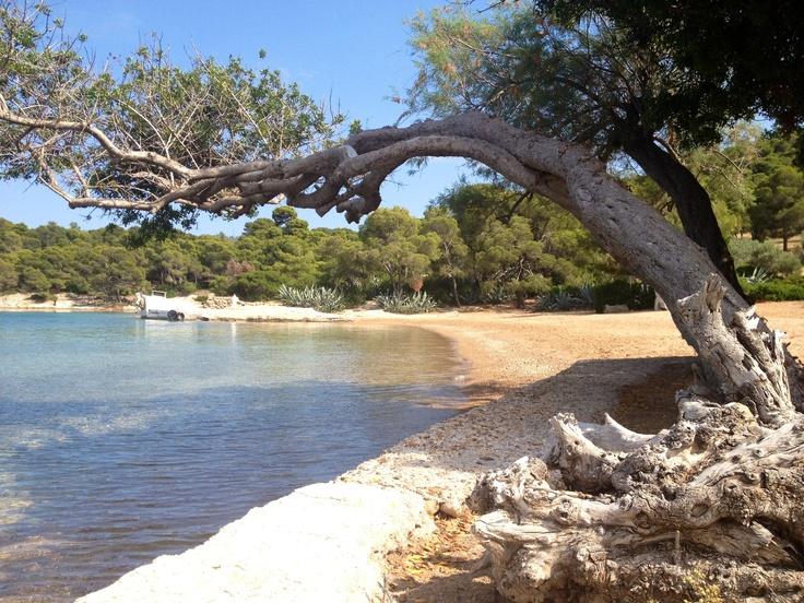 Zogeria !!! A Beautiful beach in Spetses