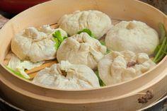 Баоцзы - легкие пирожки с мясом в китайском стиле
