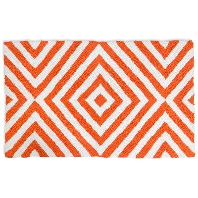 Best Inspiration Bath Images On Pinterest Bath Towels - Orange bathroom mats for bathroom decorating ideas