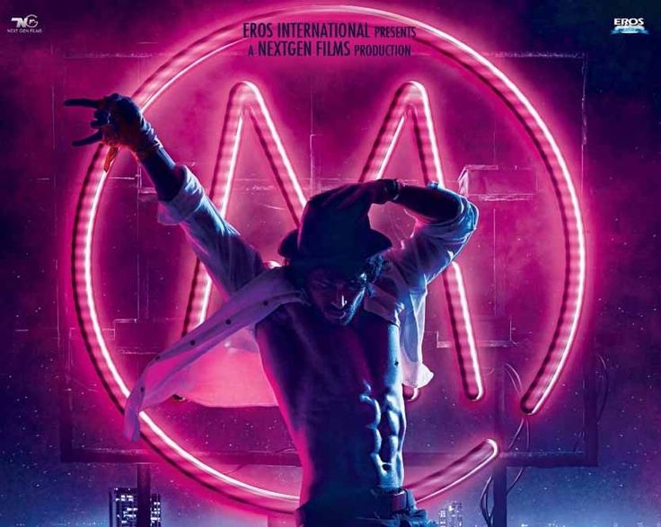 Munna Michael first look poster is just released and in the poster Tiger Shroff recreates Michael Jackson's trademark. Tiger Shroff is fan of Michael Jackso