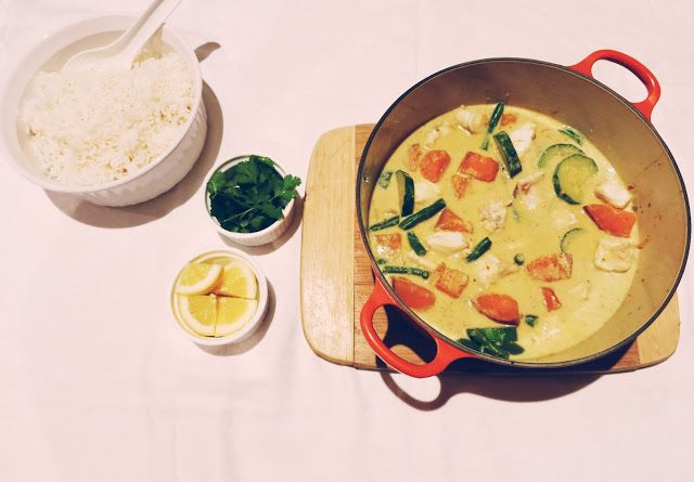 Friendly Little Kitchen: Low-Fodmap Thai Red Fish Curry