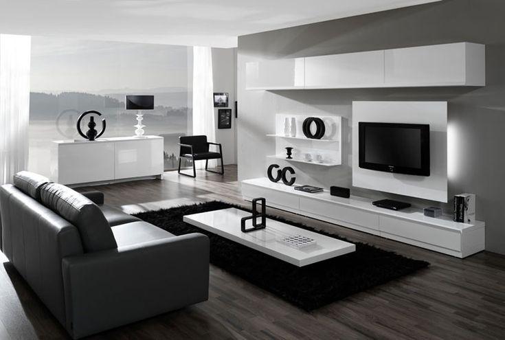 Nueva colección de muebles de salón Egelasta. Mobiliario moderno de salón. Blanco. Muebles Caparros.