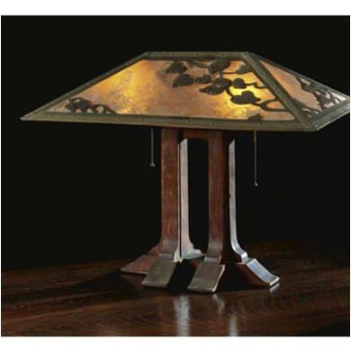 Arts & Crafts lamp