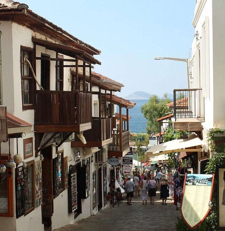 Kalkan street. Full of fab shops