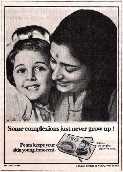 Pears Soap ad in 70's