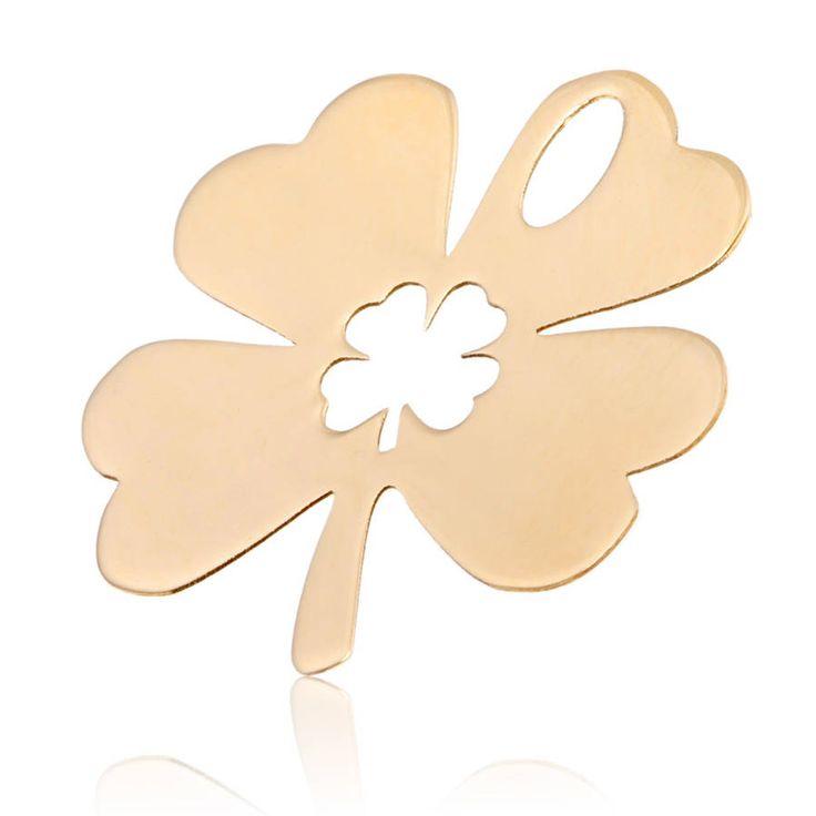 Pendentif femme, or jaune, 0.59g, Style classique - Manège à Bijoux