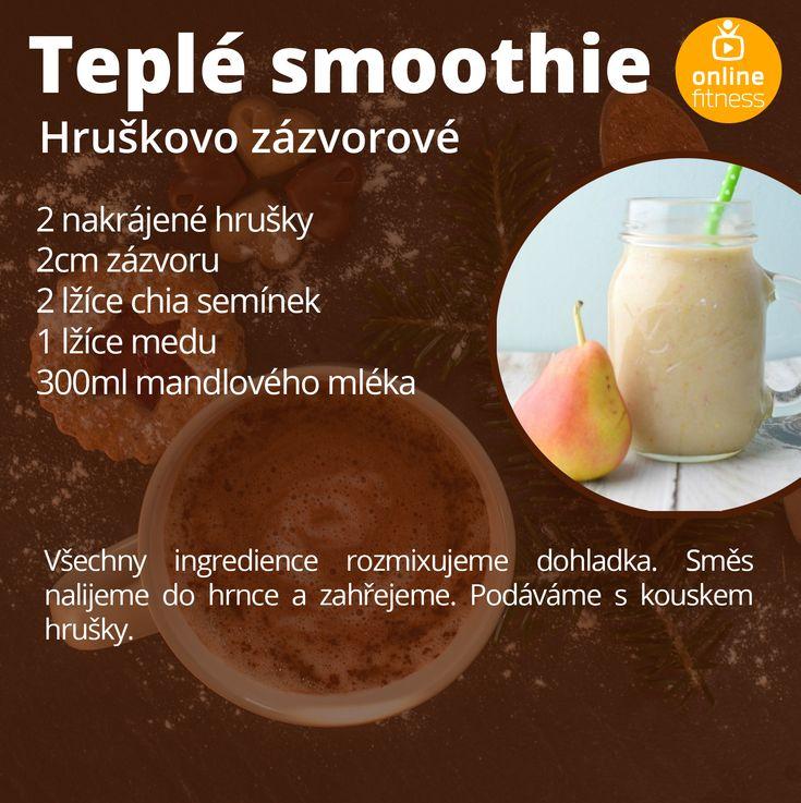 5 teplých smoothies, které ti zpříjemní zimní dny | Blog | Online Fitness