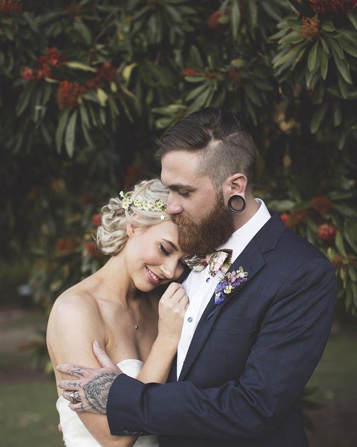 Wedding Beard Styles: 31 Best Images About Beard Couples On Pinterest