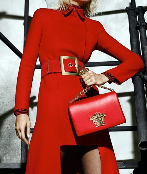 VERSACE RELEASES ENTIRE FALL WINTER 2015 CAMPAIGN STARRING KARLIE KLOS